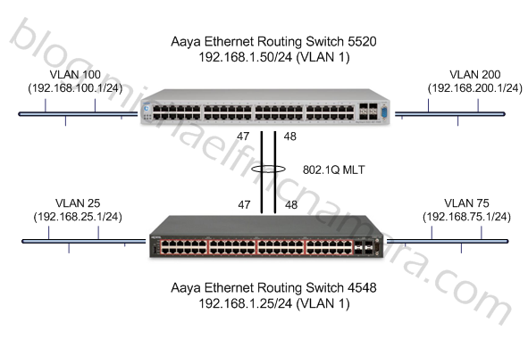 RIP On An Ethernet Routing Switch