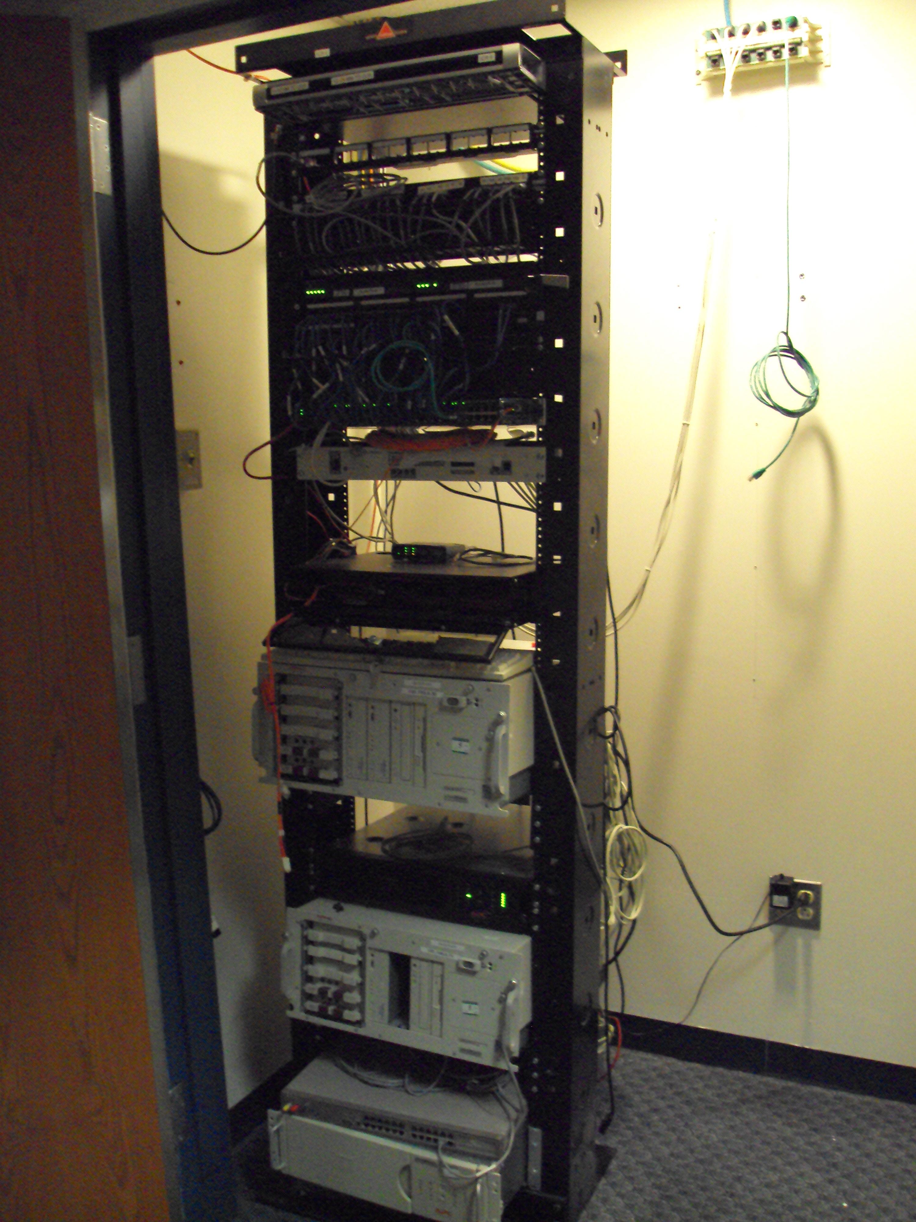 Idf Wiring Closet - Wire Data Schema •